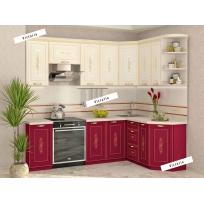 Кухонный гарнитур угловой Виктория 16 (ширина 240x160 см)