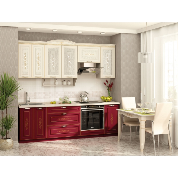 Кухонный гарнитур Виктория 19 (ширина 240 см)