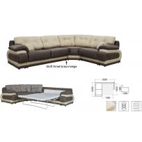 угловой диван-кровать раскладной Джоконда