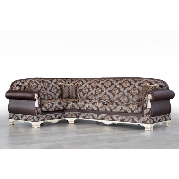 Угловой диван Шейх с прямым углом
