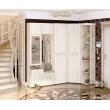 Набор угловой мебели для прихожей Тиффани 1 (ширина 223х109 см)