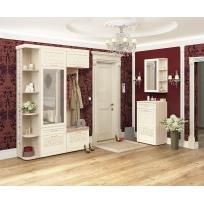 Угловой набор мебели для прихожей Тиффани 4 (ширина 152х60 см)