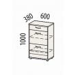 Набор мебели для прихожей Триумф 2 (ширина 120 см)