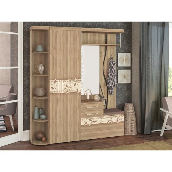 Набор мебели для прихожей Ассоль 4 (ширина 185 см)