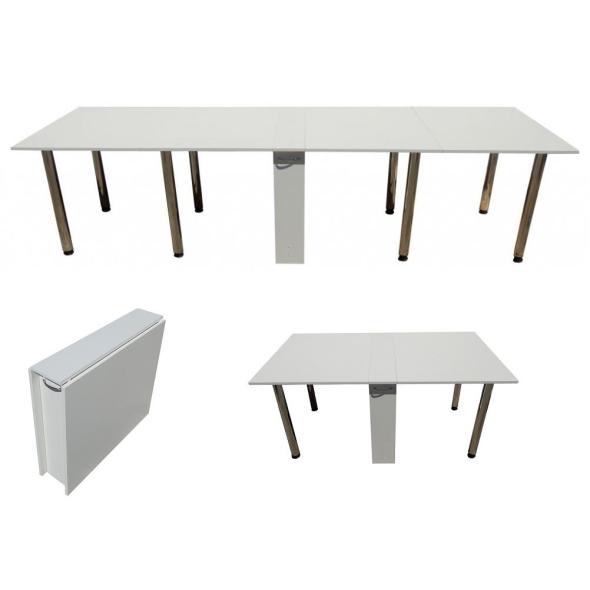 Раскладной большой стол – «книжка» особой конструкции