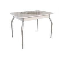 Раздвижной стол «Танго» со стеклянным  покрытием и фотопечатью, мотив: Геометрия