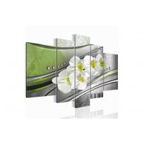 "Картина 5-и предметная ""Орхидеи"" 150х75 см / 200х100 см"