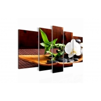 """Картина 5-и предметная """"Орхидея"""" 150х75 / 200х100 см"""