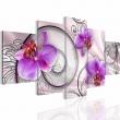 "Картина 5-и предметная ""Орхидеи"" 150х75 / 200х100 см"