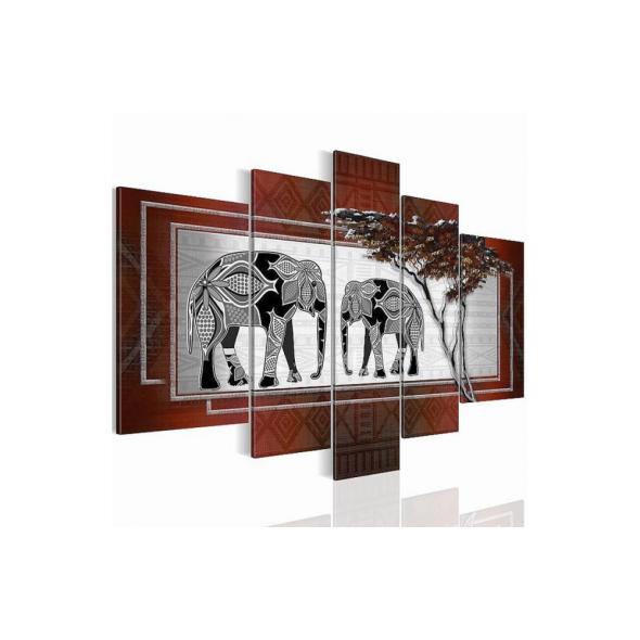 "Картина 5-и предметная ""Африка"" 110х60см"