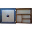 Роскошный настенный шкафчик с часами «1000 мелочей»