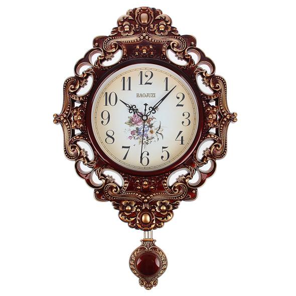 Часы настенные кварцевые с маятником