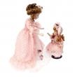 """Керамические куклы """"Мама и дочь"""""""