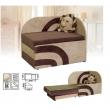 """Кресло-кровать с выдвижным коробом для белья """"Дюк"""""""
