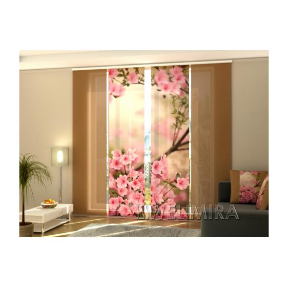 3-D Фото шторы панельные Весенние