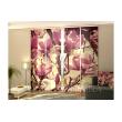 3-D Фото шторы панельные - Розовые Магнолии