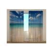 3-D Фото шторы - Золотой песок