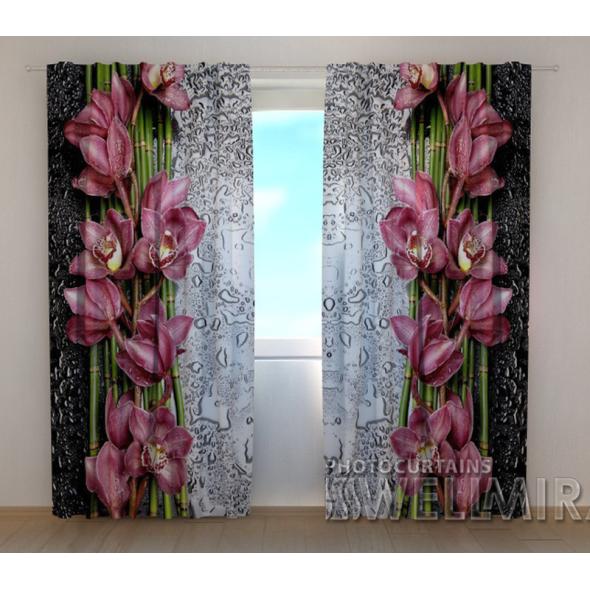 3-D Фото шторы - Капля красоты