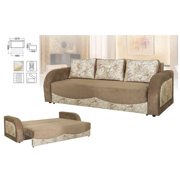 Диван-кровать раскладной Цезарь