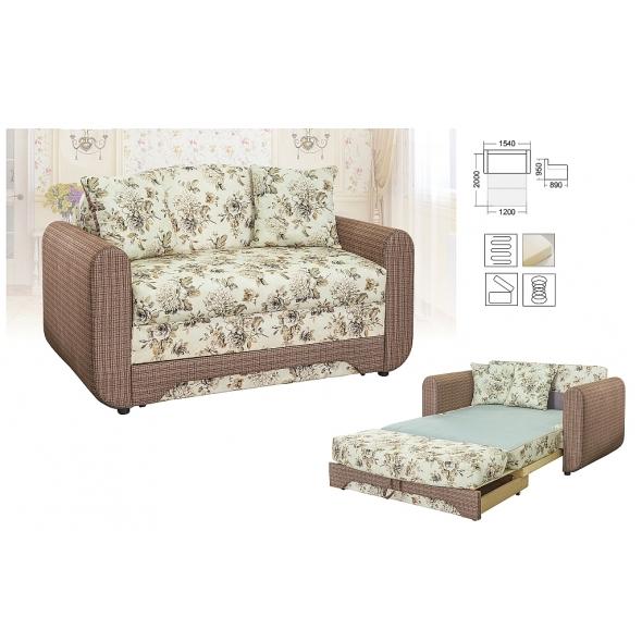 Детский диван-кровать раскладной Юниор Дюймовочка