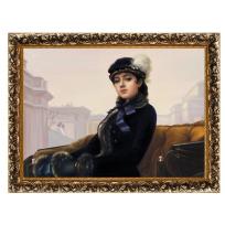 Kартина И. Крамского «Неизвестная»