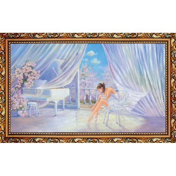 Kартина в раме «Балерина»