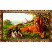 Kартина в раме «Удачная охота»