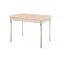 Стол раздвижной со стеклянным покрытием  Орфей 29.10