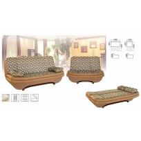 Диван-кровать раскладной и кресло Стелла